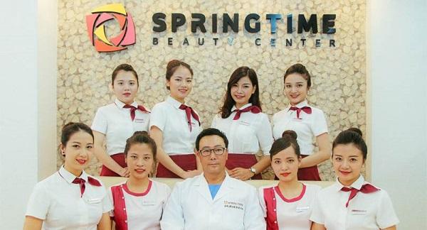 Springtime Beauty Center