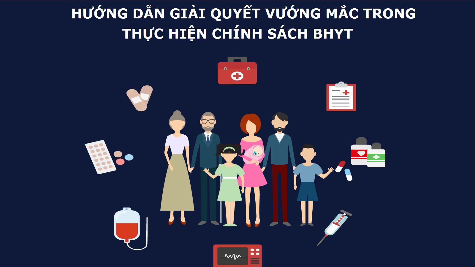 Công văn 2032/BHXH-CSYT của Bảo hiểm xã hội Việt Nam về việc hướng dẫn giải quyết một số vướng mắc trong thực hiện chính sách bảo hiểm y tế
