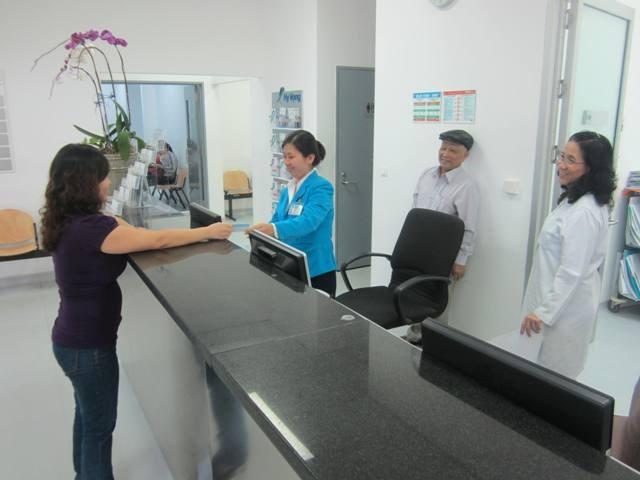 Hướng dẫn sử dụng form tiếp nhận bệnh nhân