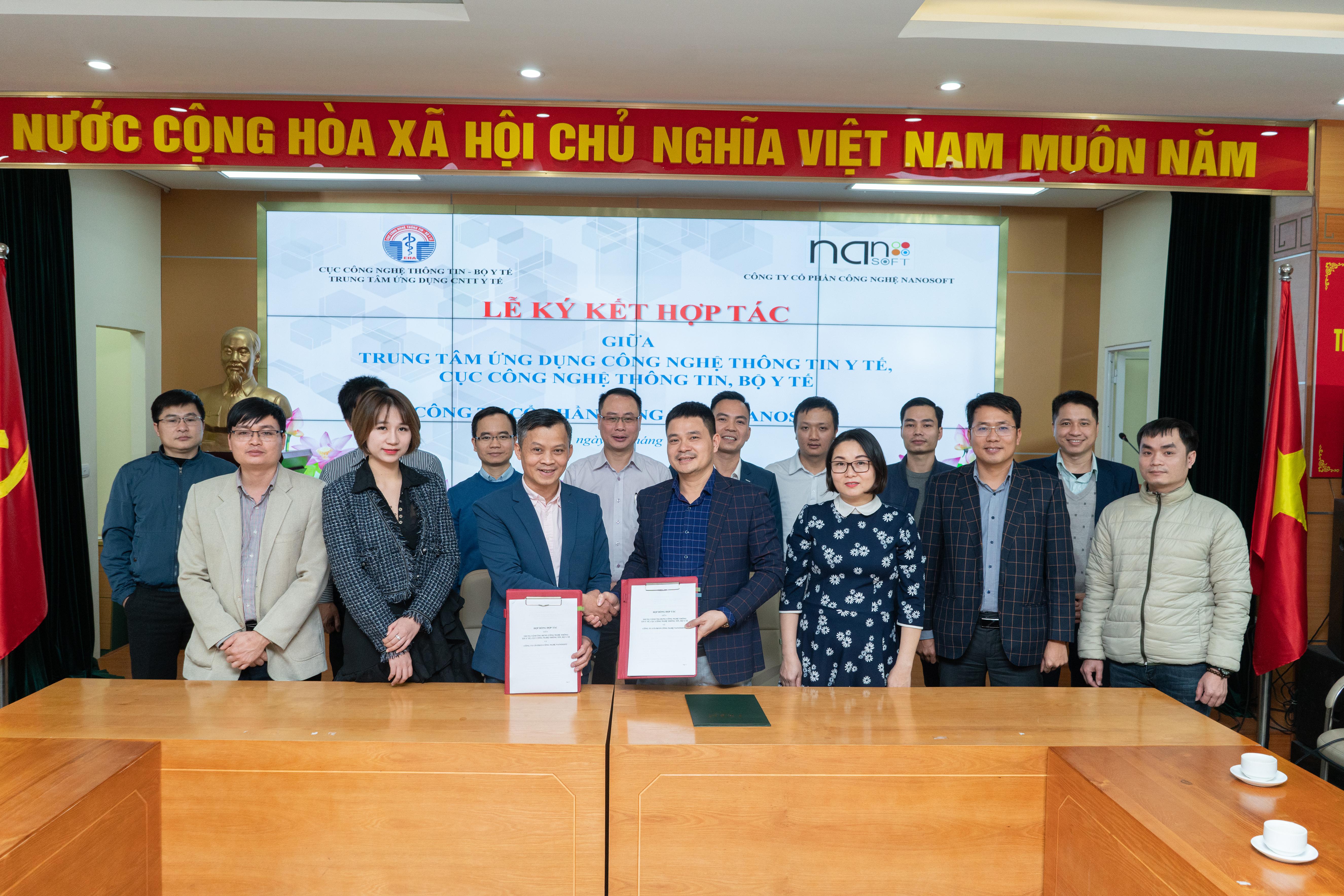 NANOSOFT hợp tác cùng Cục Công nghệ thông tin – Bộ y tế