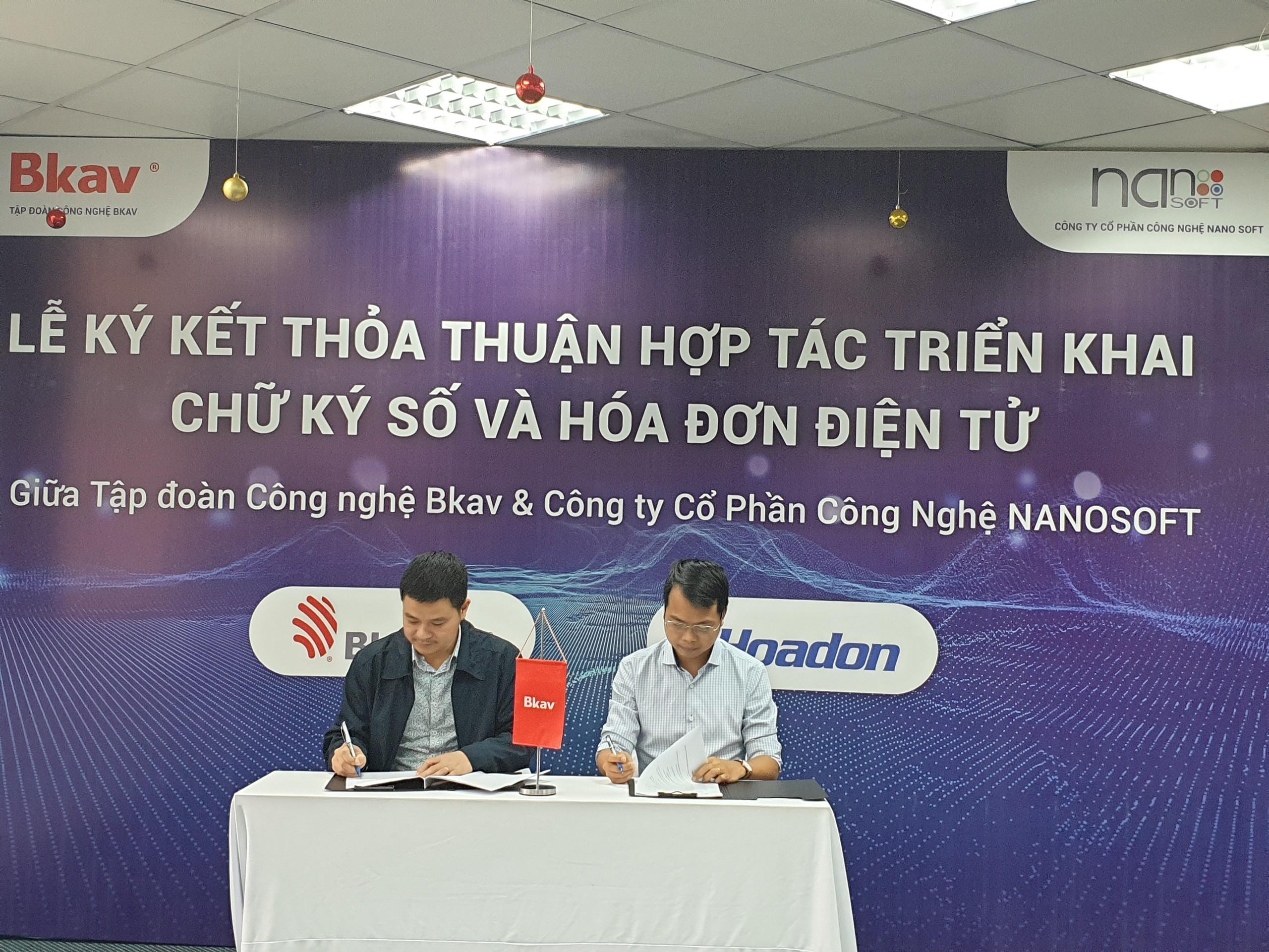[Hợp tác cùng phát triển] – NANOSOFT bắt tay cùng Tập đoàn công nghệ BKAV