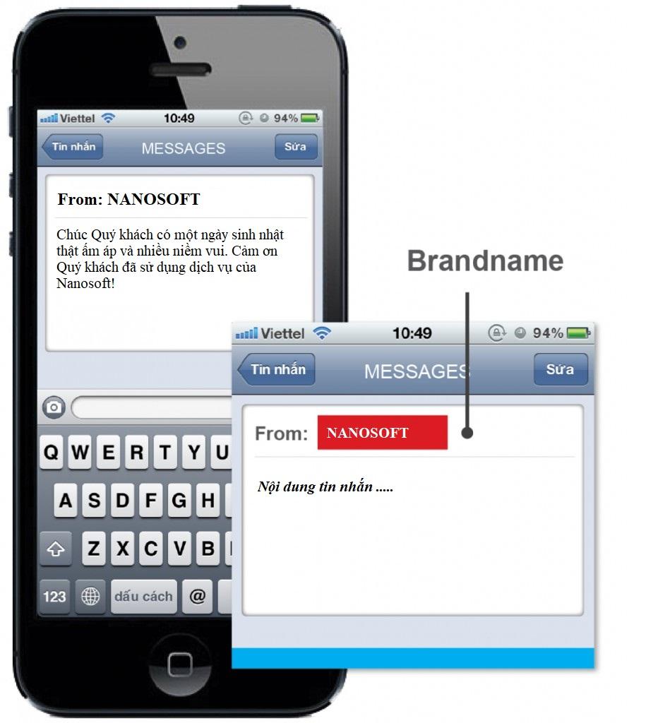 Tại sao các thương hiệu lớn đều dùng SMS Brandname?