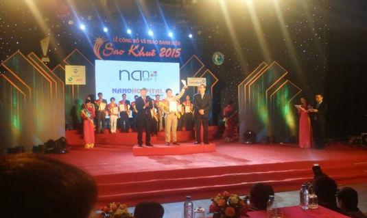 Phần mềm quản lý bệnh viện của Nanosoft nhận giải thưởng Sao khuê 2015