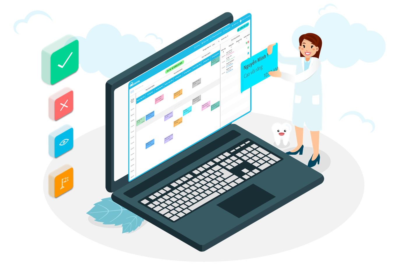 Cách lựa chọn phần mềm quản lý phù hợp với nha khoa
